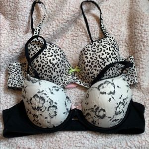 Body by Victoria lined Demi bundle 36b